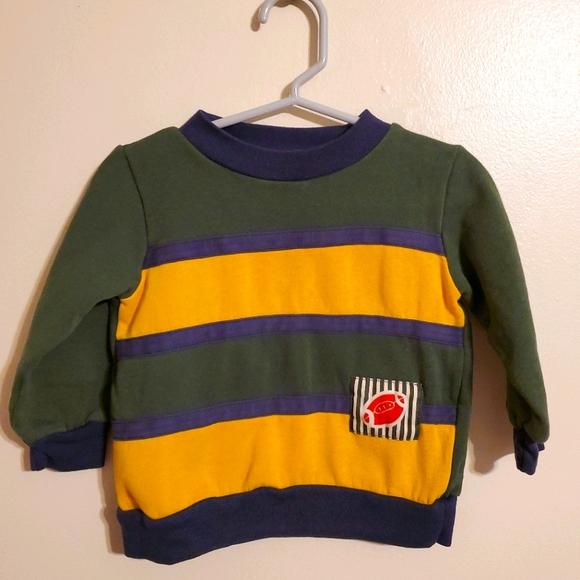 Vintage | Colorblock Football Sweatshirt